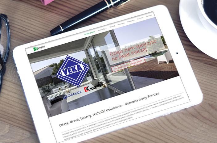 Fenster- projekt strony www