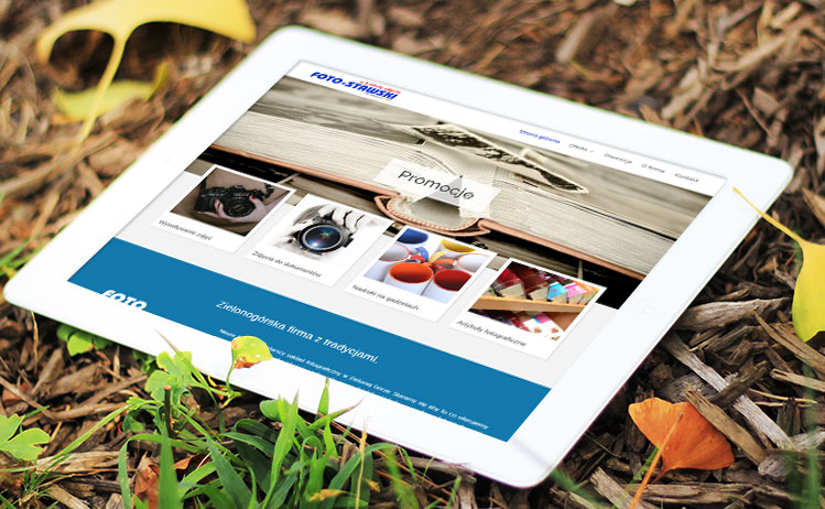 Projekt strony www FOTO-STAWSKI