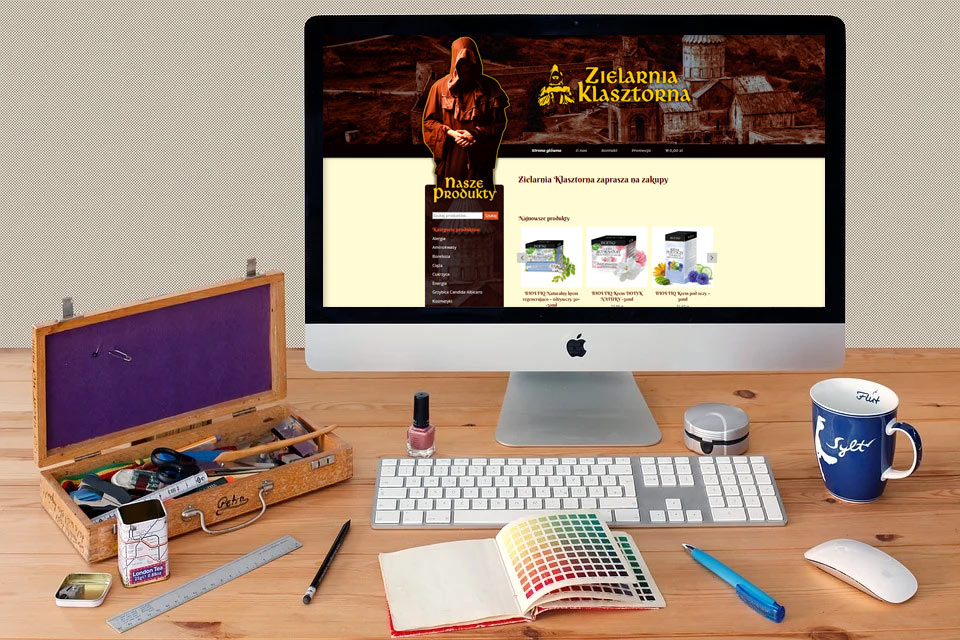 Projekt sklepu online zielona Góra